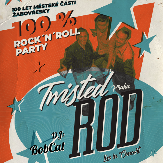 Twisted Rod live, DJ Bob Cat