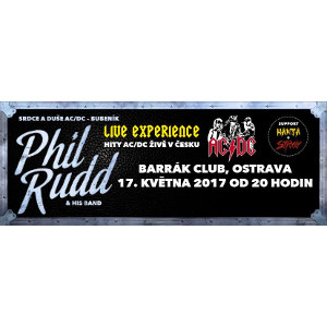 Phil Rudd Band, Ostrava, 17/05/2017 20:00