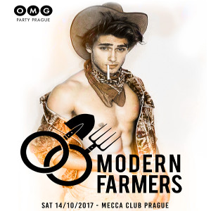 OMG Party – Modern Farmers DJs: Ben Bakson / Zurich, OMG All star DJs, Praha, 14/10/2017 22:00