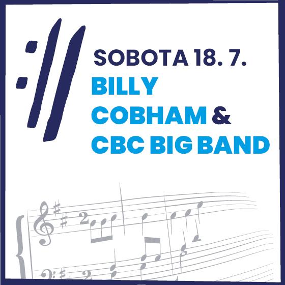 Billy Cobham<BR>Mezinárodní hudební festival Český Krumlov 2020