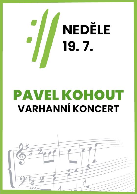 Pavel Kohout<BR>International Music Festival Český Krumlov 2020