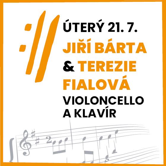 Jiří Bárta, Terezie Fialová<BR>Mezinárodní hudební festival Český Krumlov 2020