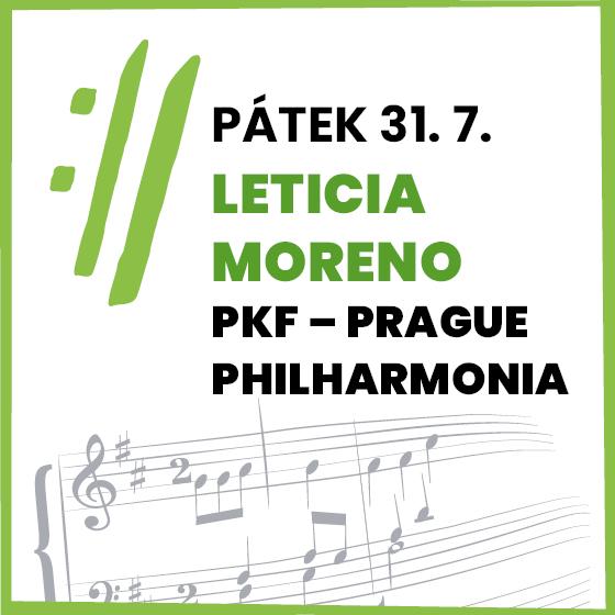 Leticia Moreno<BR>Mezinárodní hudební festival Český Krumlov 2020