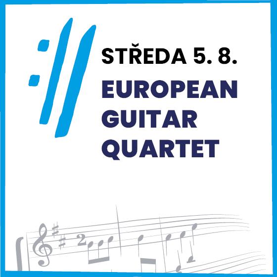 European Guitar Quartet<BR>Mezinárodní hudební festival Český Krumlov 2020