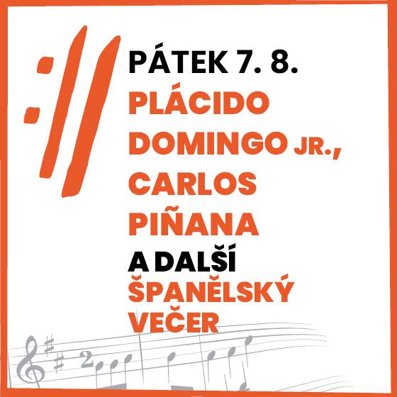 Španělský večer: Plácido Domingo jr., Carlos Piňana a další<BR>Mezinárodní hudební festival Český Krumlov 2020