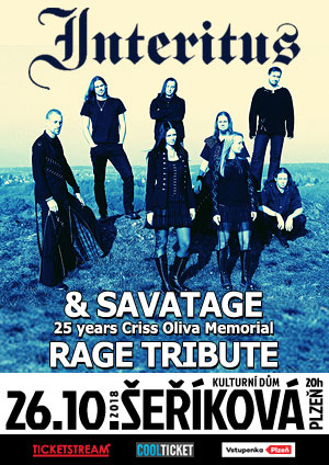 Interitus<BR>Savatage<BR>25 years Criss Oliva Memorial