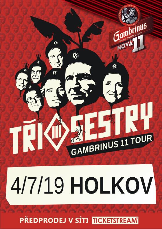 Tři Sestry<br>Gambrinus 11 tour
