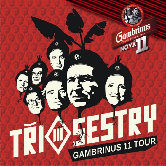 Tři Sestry<br>Gambrinus 11 tour<br>hosté: Plexis, Pirates of the Pubs