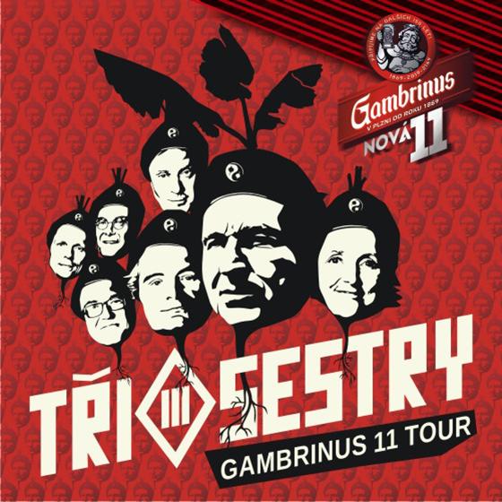 Tři Sestry<br>Gambrinus 11 tour<br>host: E!E