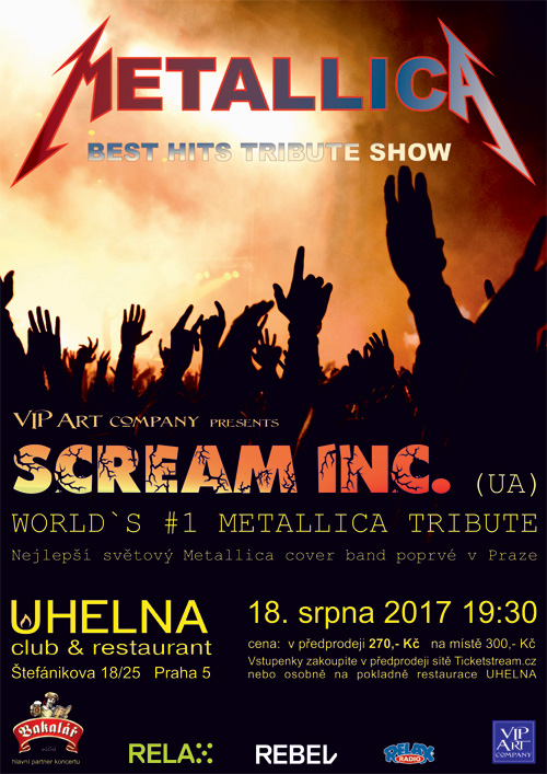 SCREAM INC. Metallica Tribute Band