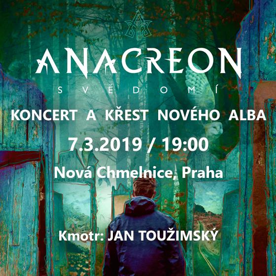 Anacreon<br>Koncert a křest nového alba
