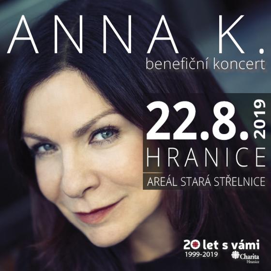 Anna K.<BR>Charita Hranice  - 20 let s vámi