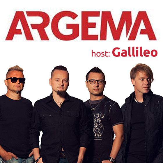 ARGEMA/host: Gallileo/- koncert v Plzni -KD Šeříková Plzeň