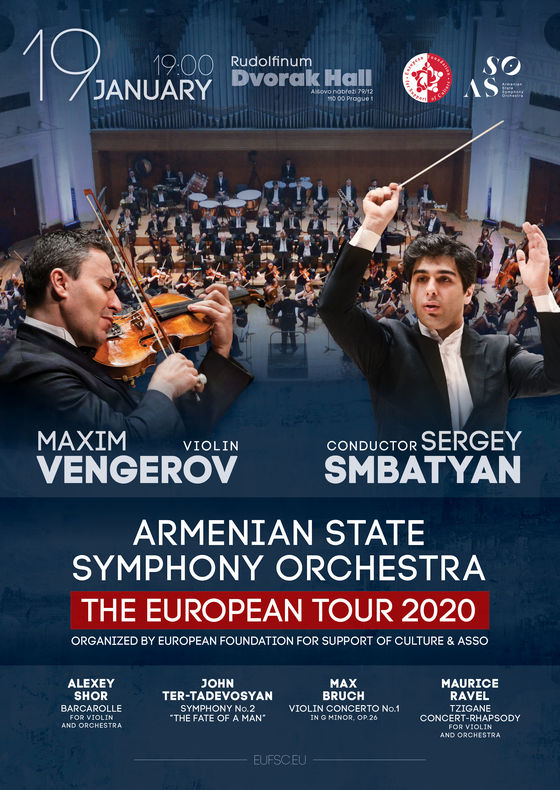 Armenian State Symphony Orchestra & Maxim Vengerov