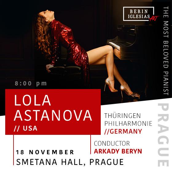 Lola Astanova<br>Thüringen Philharmonie (Germany)<br>Conductor Arkady Beryn