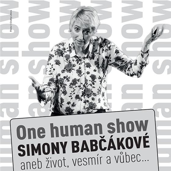 Simona Babčáková<BR>One Human Show