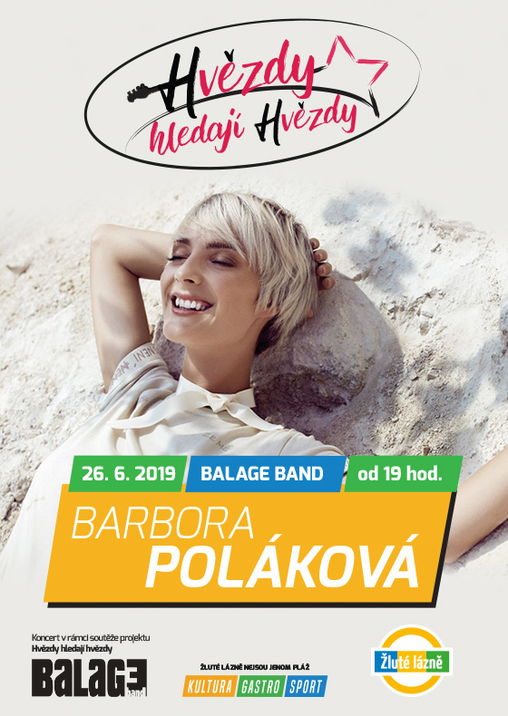 Hvězdy hledají hvězdy<br>koncert zpěvačky Báry Polákové