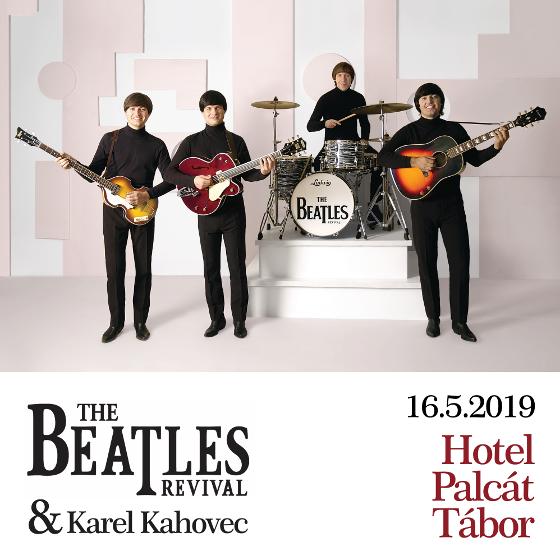 THE BEATLES REVIVAL/HOST: KAREL KAHOVEC/- koncert Tábor -Congress & Wellness Hotel Palcát Tábor