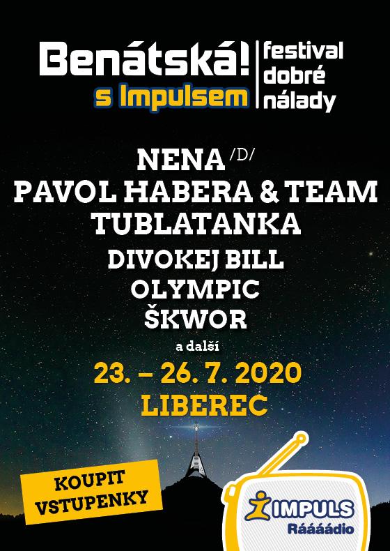 Benátská! s Impulsem 2020