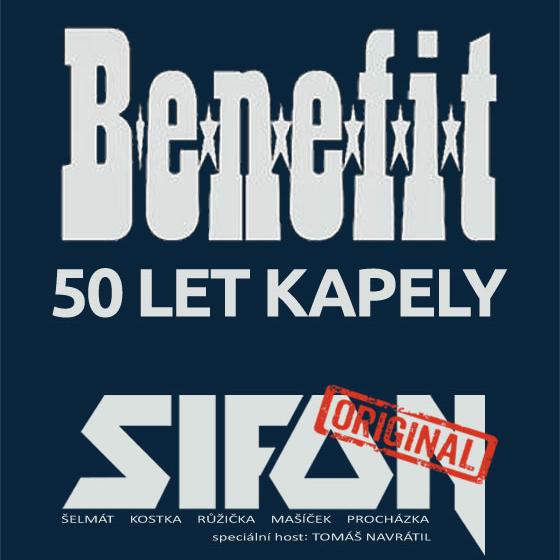 Benefit - 50 let<BR>Sifon naEx