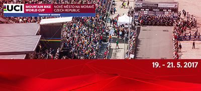 2017 UCI MOUNTAIN BIKE WORLD CUP  XCO<br>XCO Ženy Elite, XCO Muži U23<br><FONT COLOR=RED>SOBOTA 20.5.2017</FONT>