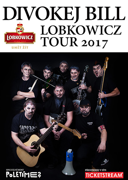 Divokej Bill Lobkowicz tour 2017 host: Poletíme?