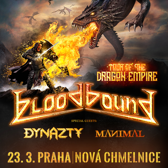 Bloodbound<BR>Tour Of The Dragon Empire