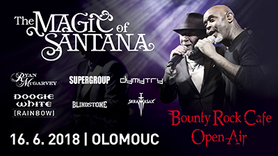 Bounty Rock Cafe Open Air 2018, Olomouc, 16/06/2018 12:00