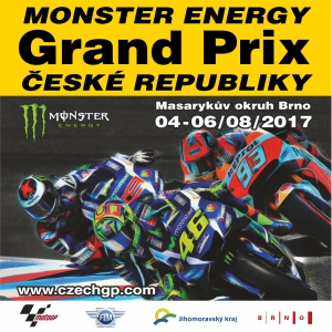 Monster Energy<br>Grand Prix České Republiky 2017<br>Moto GP 2017