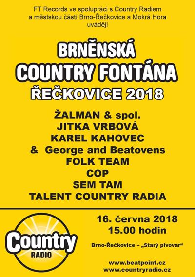 Brněnská Country Fontána Řečkovice 2018