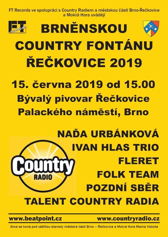 Brněnská Country Fontána<br>Řečkovice