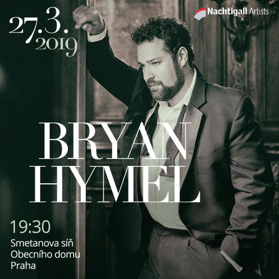 BRYAN HYMEL - tenor/Janáčkova filharmonie Ostrava/Rastislav Štúr - dirigent-  Praha  -Obecní Dům   Praha