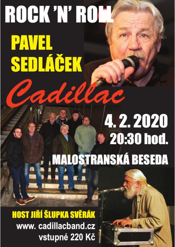 Pavel Sedláček a Cadillac