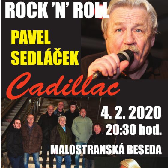 Pavel Sedláček a Cadillac<br>jako host Jiří Šlupka Svěrák