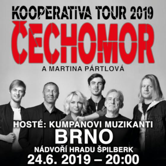 Čechomor<BR>Kooperativa Tour 2019
