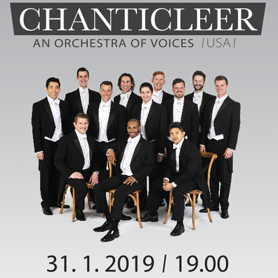 Chanticleer / USA/<br>Orchestra of voices