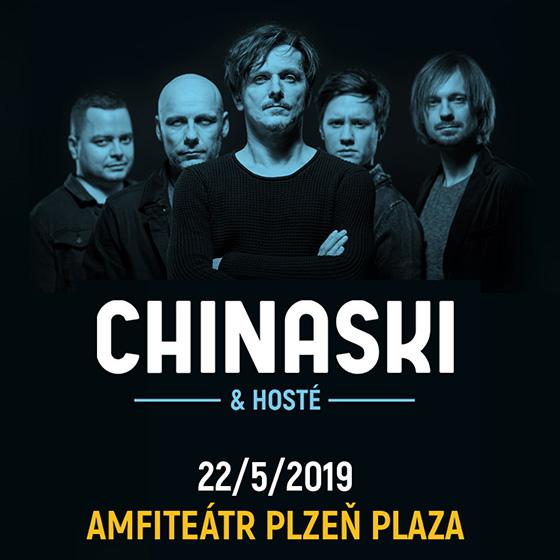 Chinaski a hosté Letní amfiteátry 2019