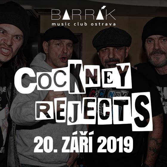 COCKNEY REJECTS, PROTI SMĚRU, BETON M3- koncert v Ostravě -Barrák Music Club Ostrava