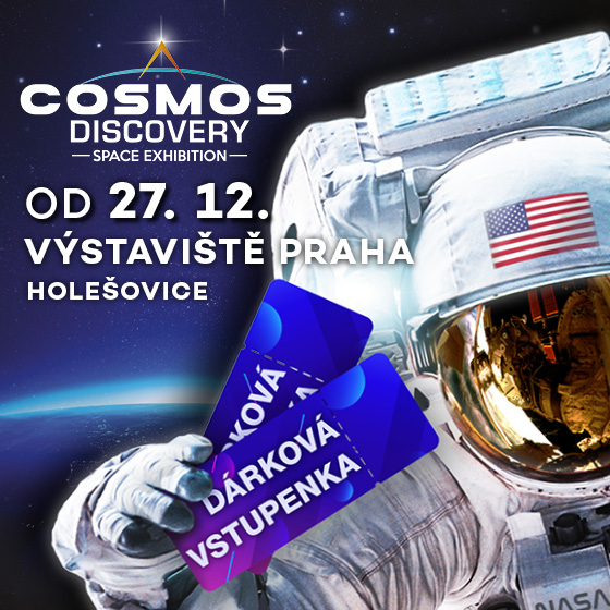 Cosmos Discovery<br>Space exhibition<br>Gift voucher