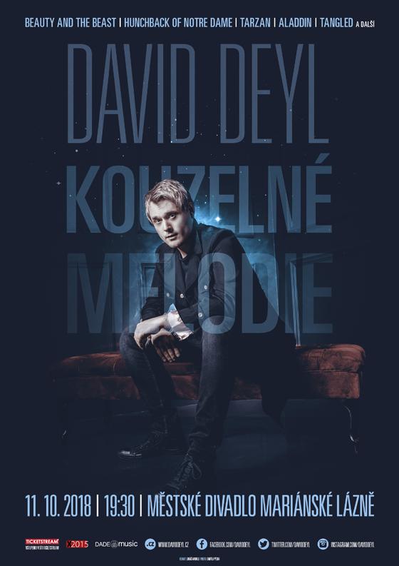 David Deyl/Kouzelné melodie/- koncert v Mariánských Lázních -Městské divadlo Mariánské Lázně, Mariánské Lázně