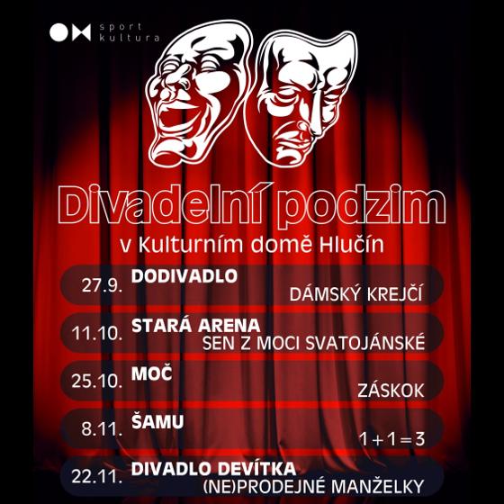 Divadelní podzim 2018<br>Záskok (MOČ)