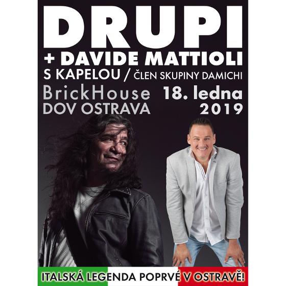 DRUPI<BR>Davide Mattioli s kapelou
