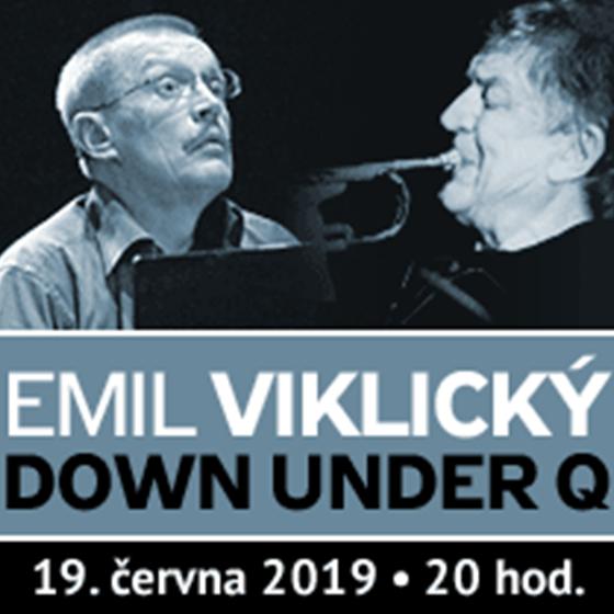 Emil Viklický Down Under Q<br>koncert z cyklu Jazzová KLAUSura