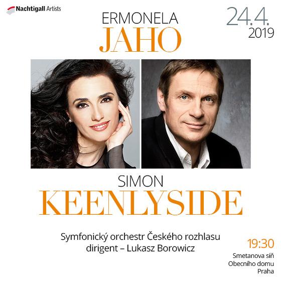 Ermonela Jaho a Simon Keenlyside
