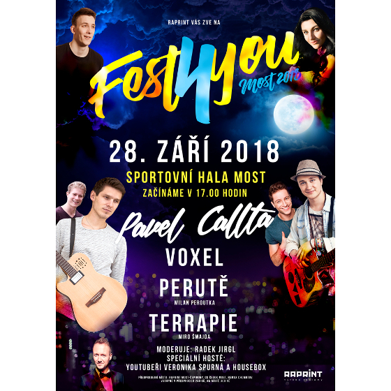 Fest4You Most, Most, 28/09/2018 16:00