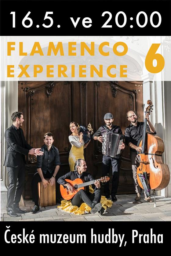 FLAMENCO EXPERIENCE 6/& JUAN POLVILLO/FLAMENKOVÝ KONCERT S TANCEM -České muzeum hudby   Praha
