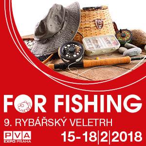 FOR FISHING- RYBÁŘSKÝ VELETRH- Praha -PVA EXPO PRAHA Praha