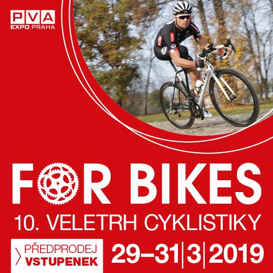 For Bikes<BR>veletrh cyklistiky