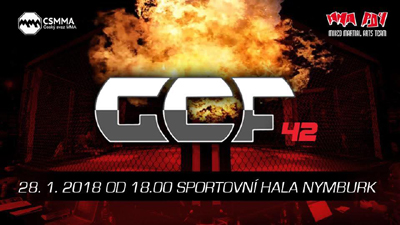 GCF 42, Cage Fights Nymburk, Nymburk, 28/01/2018 18:00