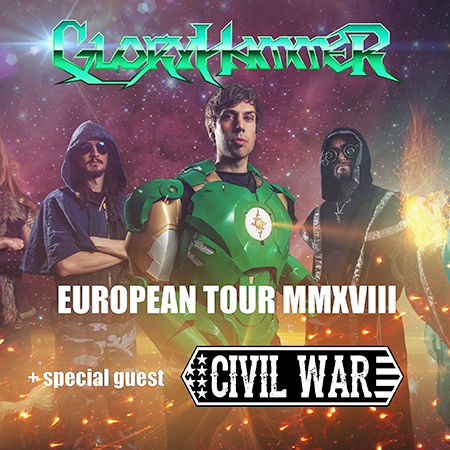 Gloryhammer<BR>European Tour MMXVIII